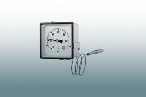 Special gas-actuated thermometers
