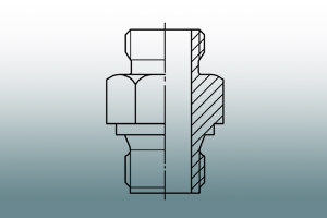 Accessory according to DIN 43 772 for thermowells